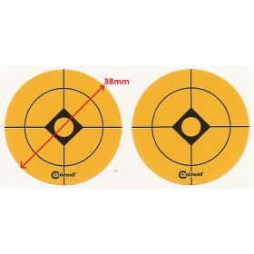 38mm oranzovy nalepovaci